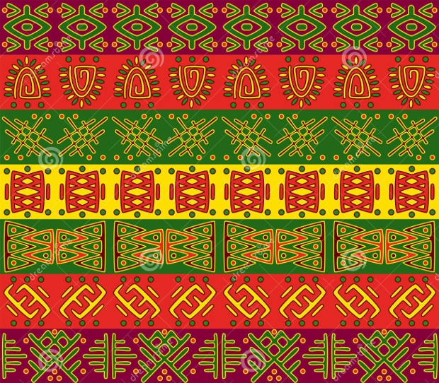 African Royal Pattern Design