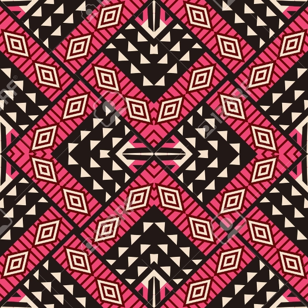 Tribal Ornament Seamless Pattern