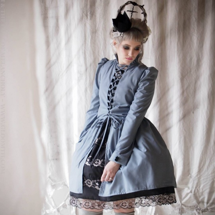 victorian gothic corset dress