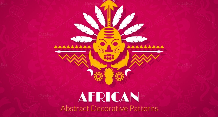40 African Patterns Free PSD PNG Vector EPS Format Download Awesome African Pattern