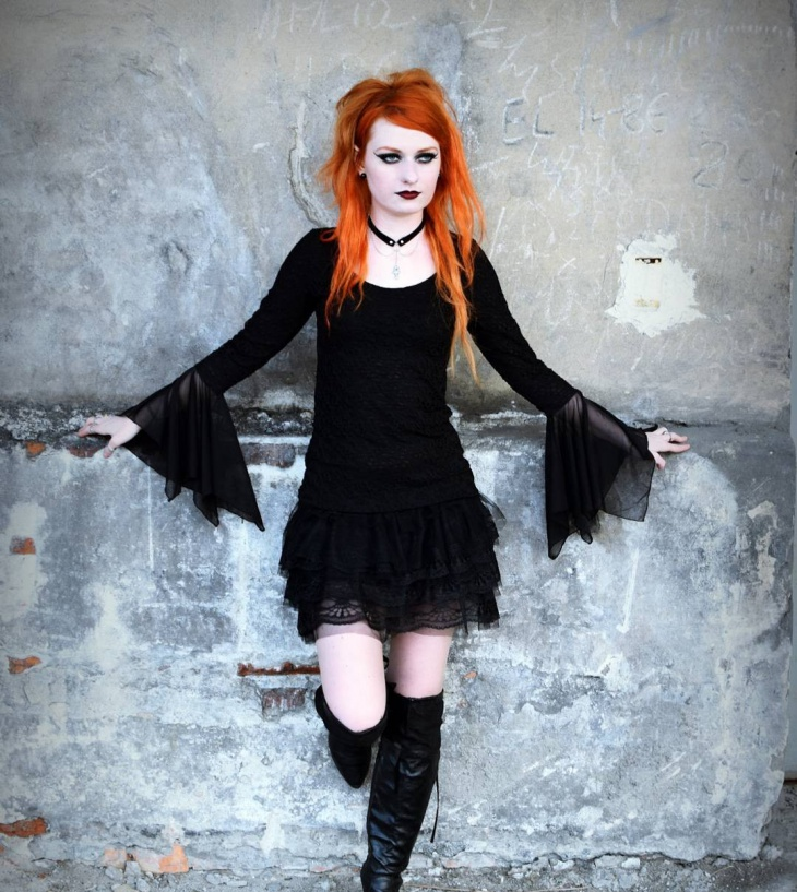 21+ Gothic Outfit Designs, Ideas