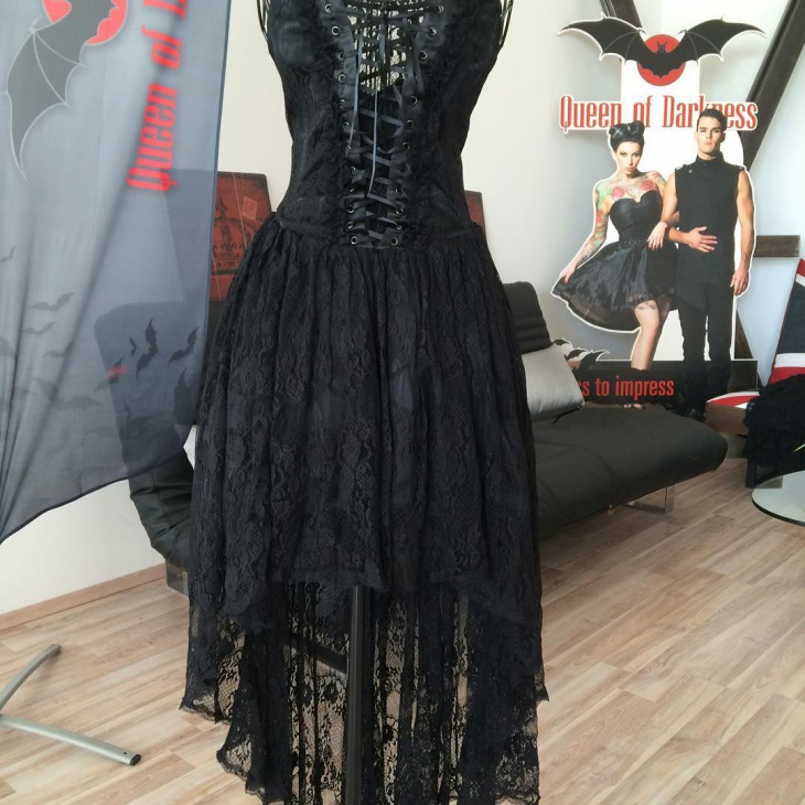 awesome gothic corset outfit