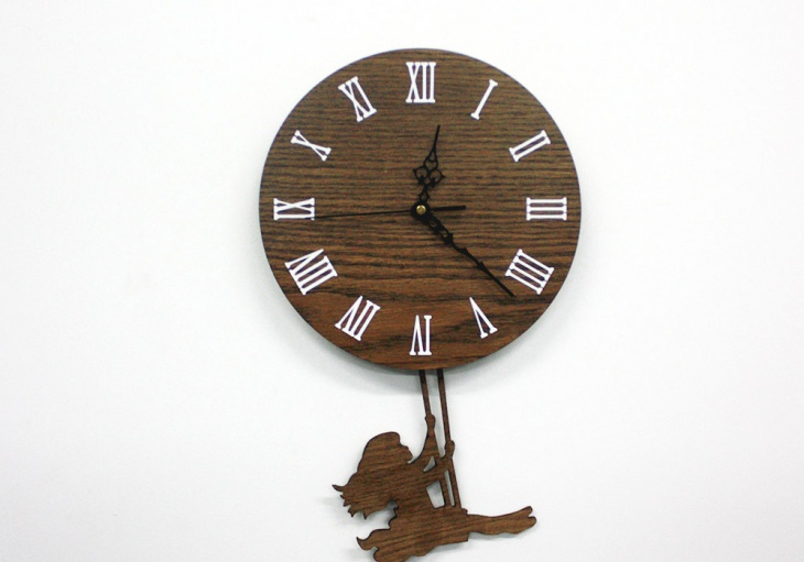 21 Pendulum Wall Clock Designs Ideas Design Trends