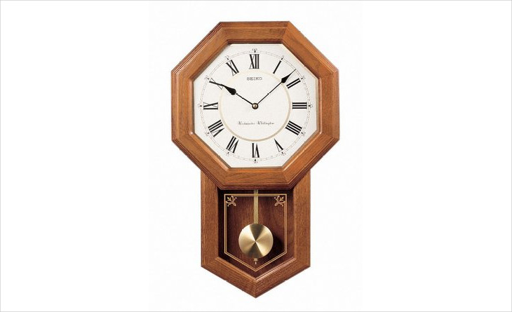 Solid Wood Pendulum Clock