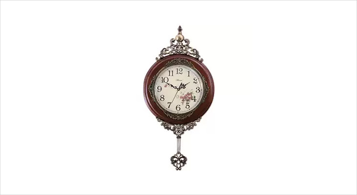 Decorative Pendulum Wall Clock
