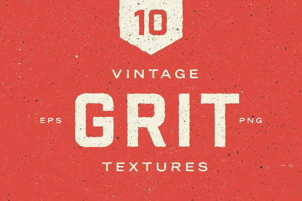 vintage gritty texture design