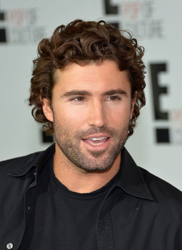 Brody Jenner Frizzy Hairstyle for Men