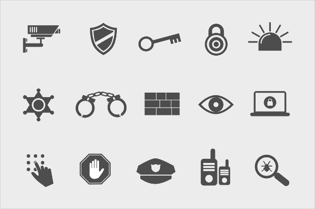 Security Psd Icons
