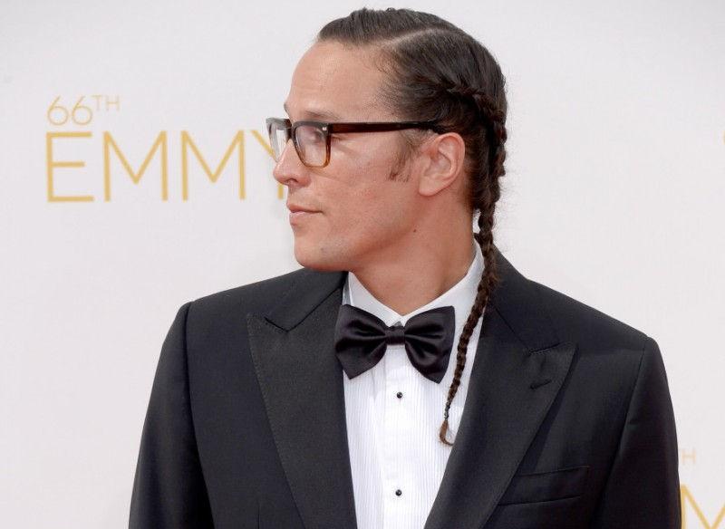Cary Fukunaga Long Hair Men Braided Hairstyle