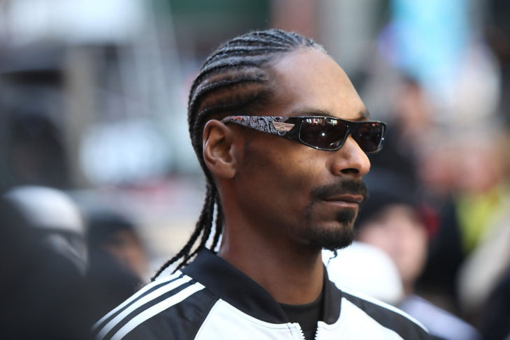 Snoop Dogg Braided Hairstyle for Black Men