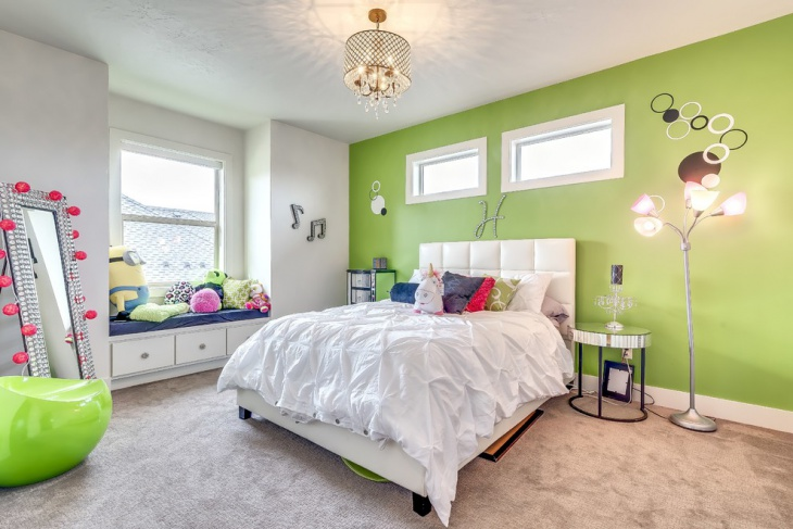 Lime Green Kids Room