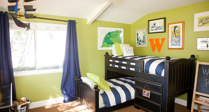 20+ Green Kids Bedroom Designs, Ideas | Design Trends - Premium PSD ...
