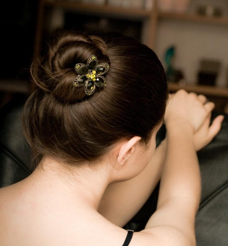 Trendy Chignon Hairstyle