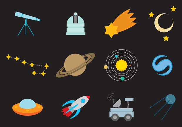 black space cosmo icons