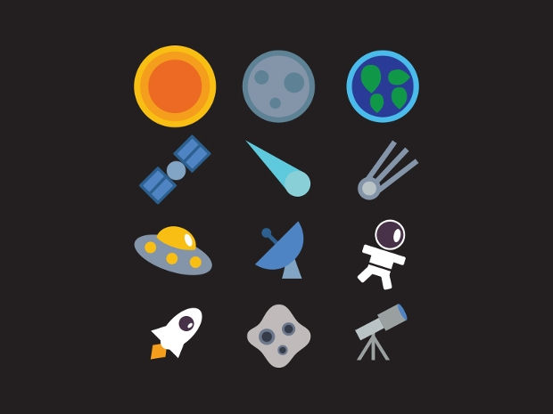 Free Download Cosmo Space Icon Set