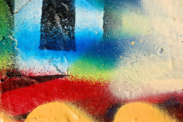 spray wall photoshop texture