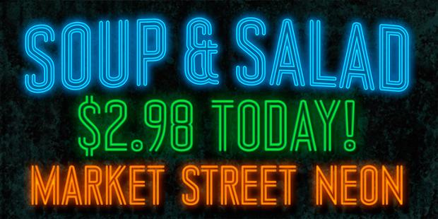 Market Street Neon Font