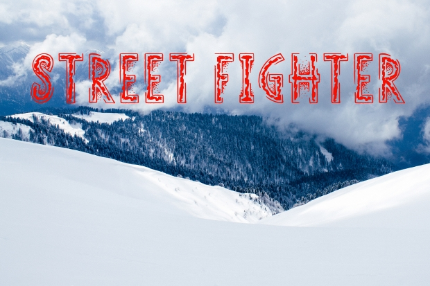 street fighter custom font