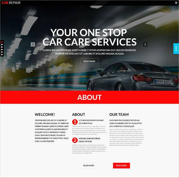 transportation wordpress theme for workshops2