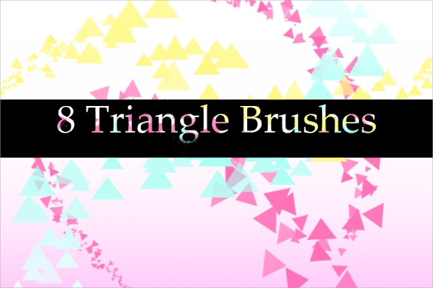 triangle vector brushes1
