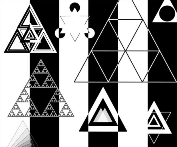 Triangle Vector Brushes