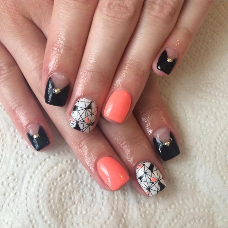 Trendy Acrylic Nails Idea