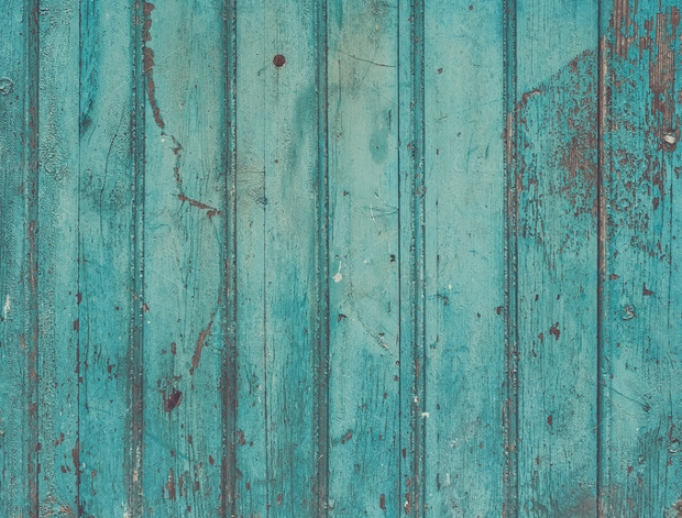High Resolution Turquoise Wood Texture