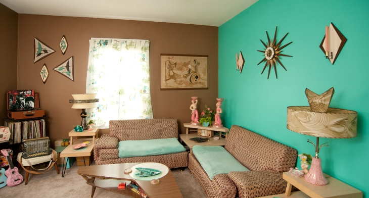 Turquoise Living Room Designs