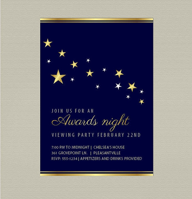 15 Award Ceremony Invitation Templates Printable PSD AI – Movie Themed Invitation Template