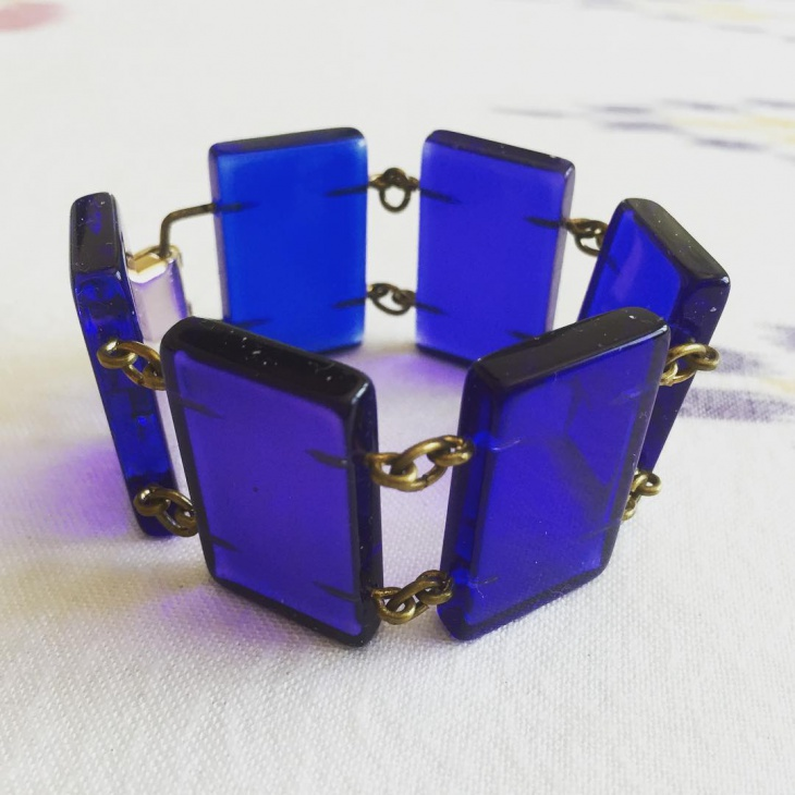 designer sculptural bracelet