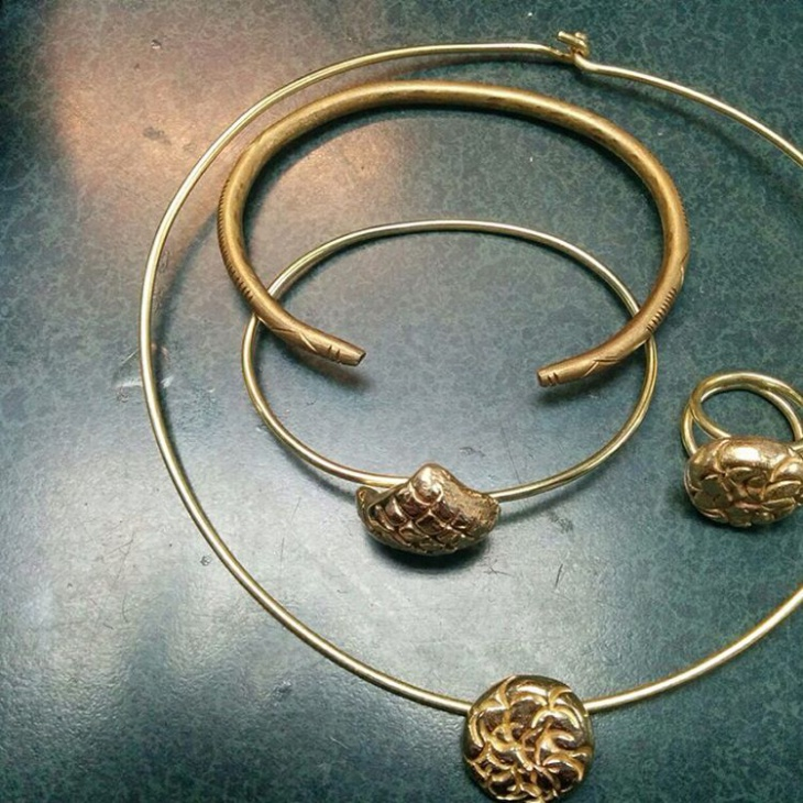 Nice Sculptural Jewelry Design