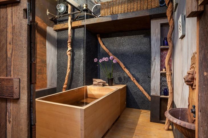 Japanese Bathroom Interior Design