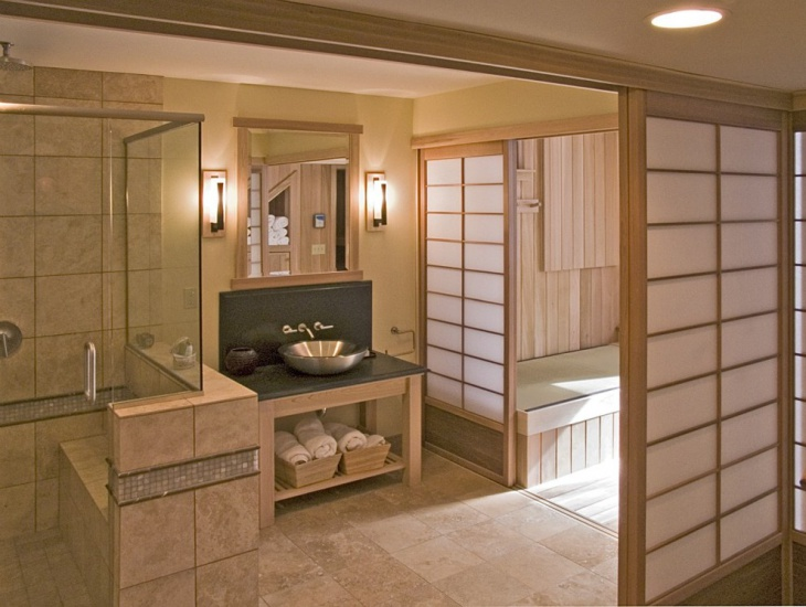 19+ Japanese Bathroom Designs, Ideas | Design Trends - Premium PSD on japanese home bathroom, japanese minimalist bathroom, japanese wood bathroom, japanese red bathroom, japanese design bathroom, japanese stone bathroom, japanese spa bathroom, japanese themed bathroom, japanese bathroom sink, japanese modern bathroom, japanese garden bathroom,