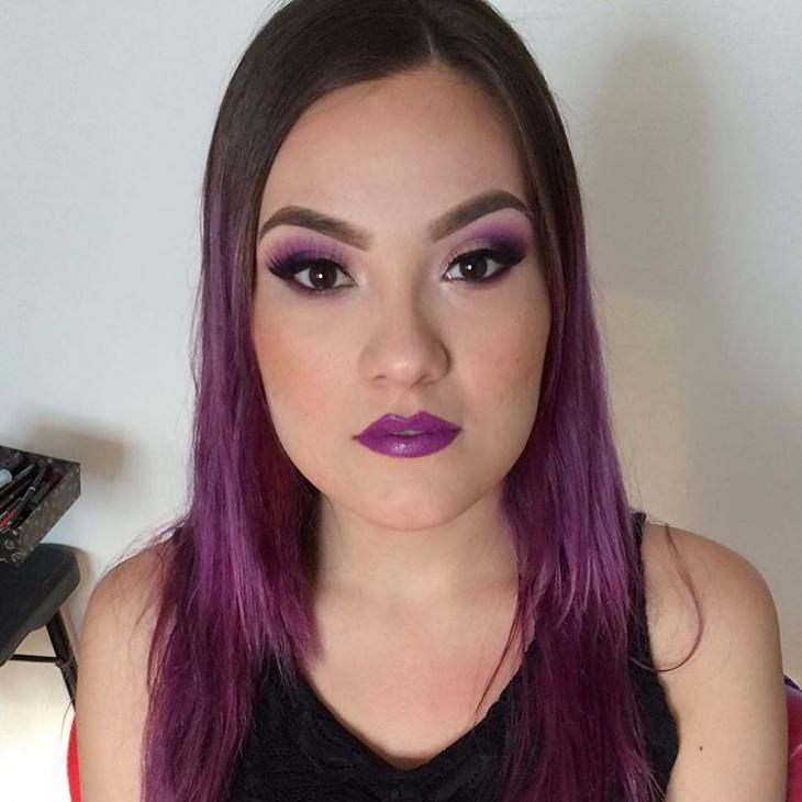Purple Makeup Palette