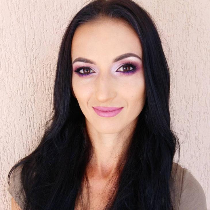 Purple Makeup Design