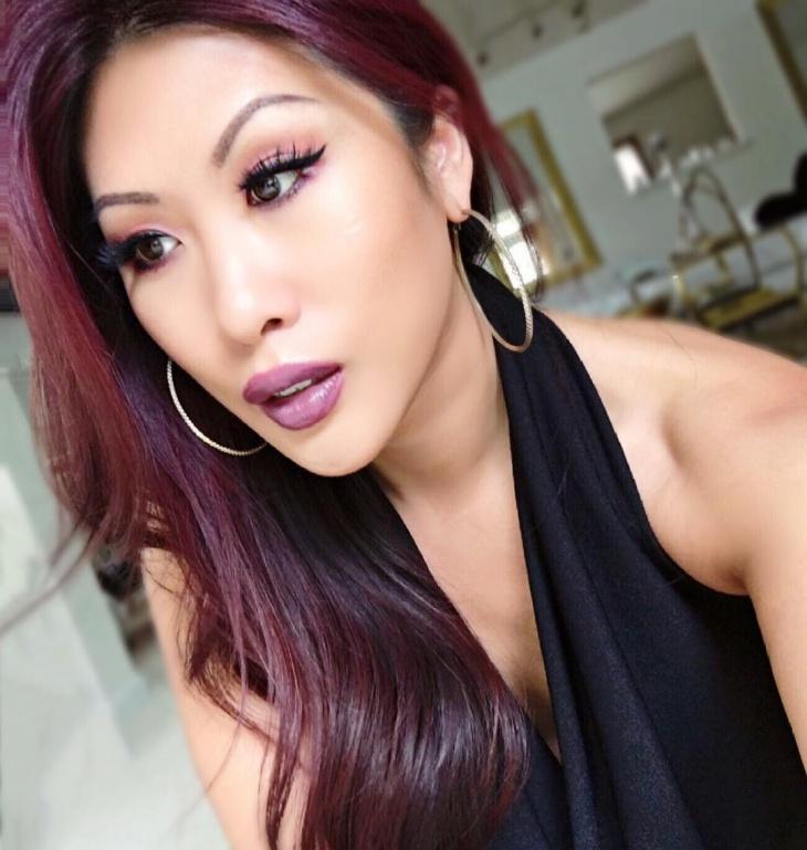 Bright Purple Lipstick Idea