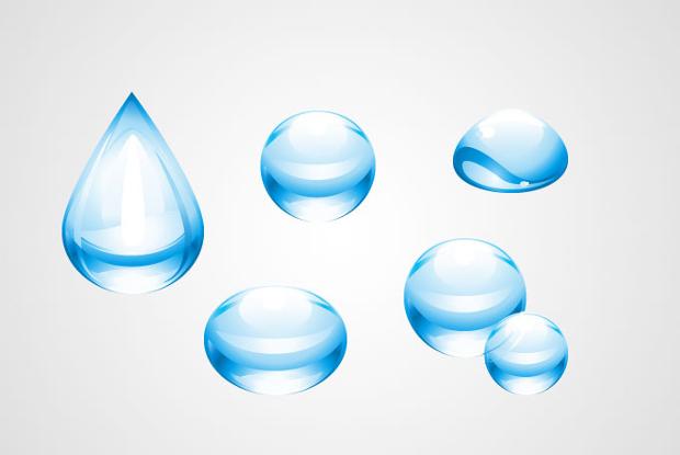 Free Water Drop Vector
