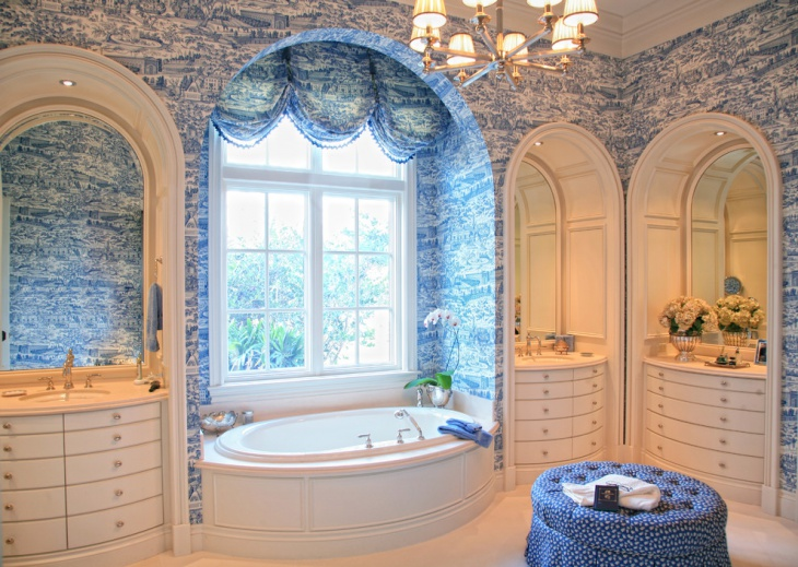 victorian look french bathroom