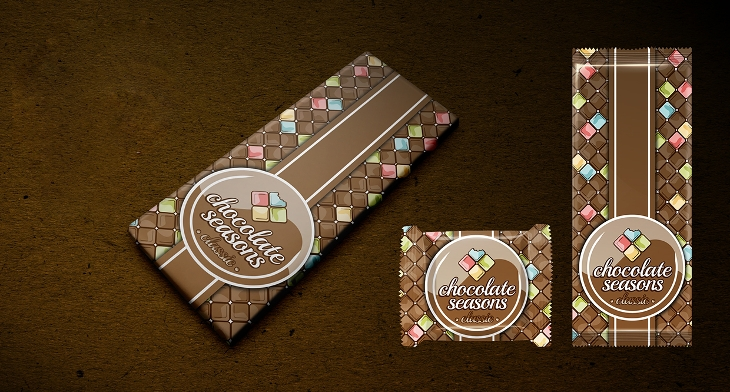 Home Design Ideas Pictures: 19+ Chocolate Packaging PSD Templates
