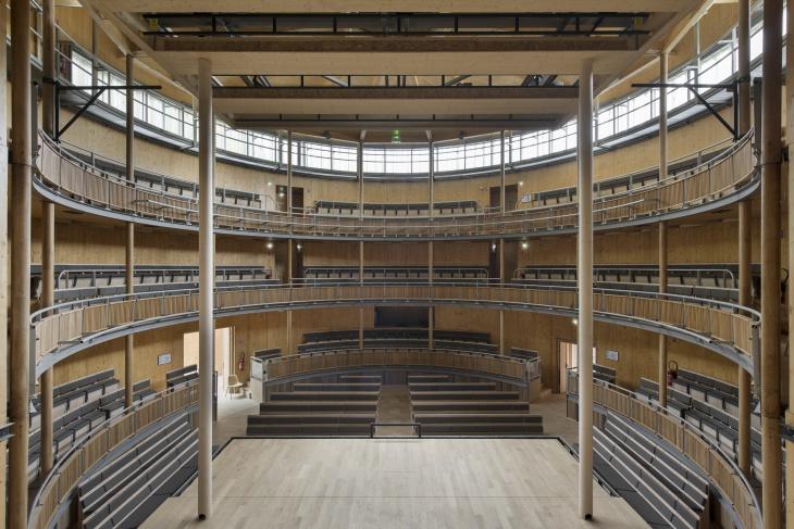 A View of the Elizabethean Theatre