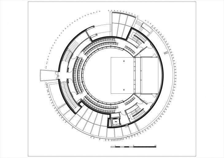 1st balcony plan