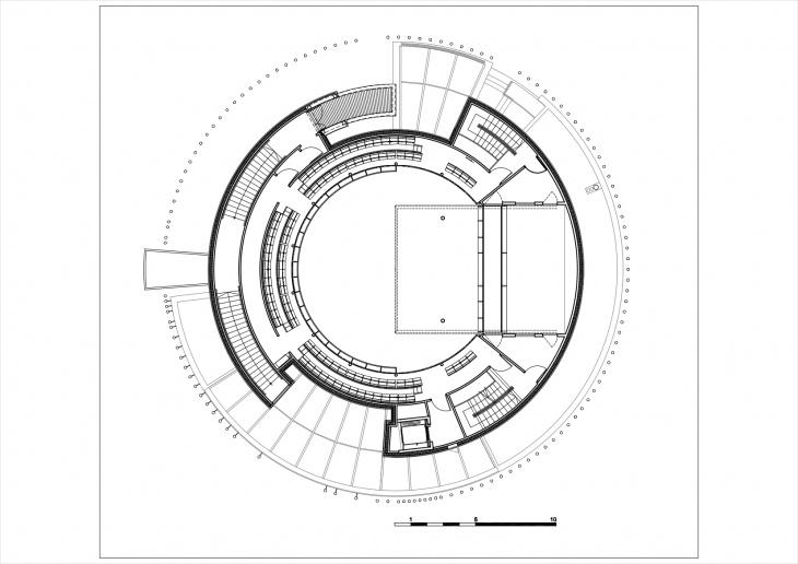 2nd balcony plan