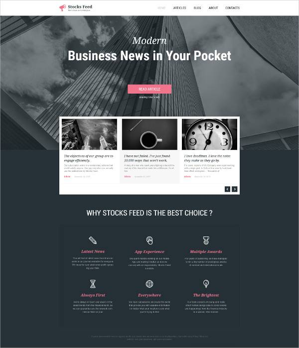 business responsive cloudy wordpress theme1