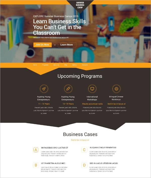 Customized Business WordPress Theme