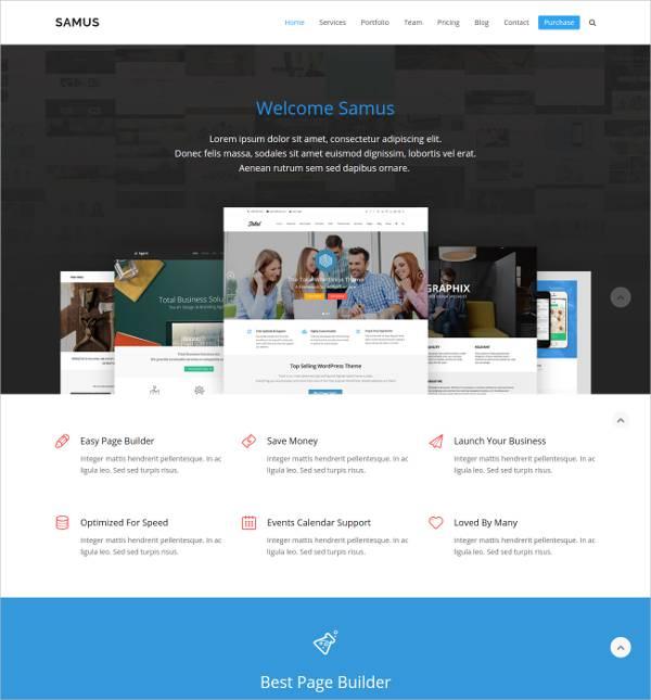 Modern Premium Business WordPress Theme