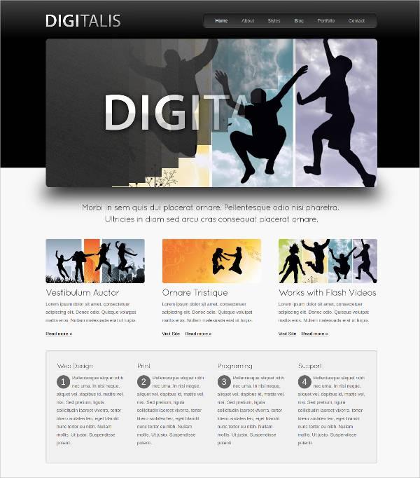 Digital Business wordPress Theme