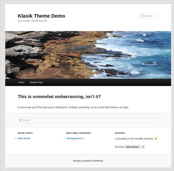 Responsive Business Corporates WordPress Theme