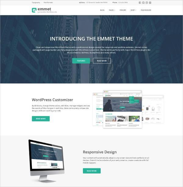 Stylish - Business WordPress Theme
