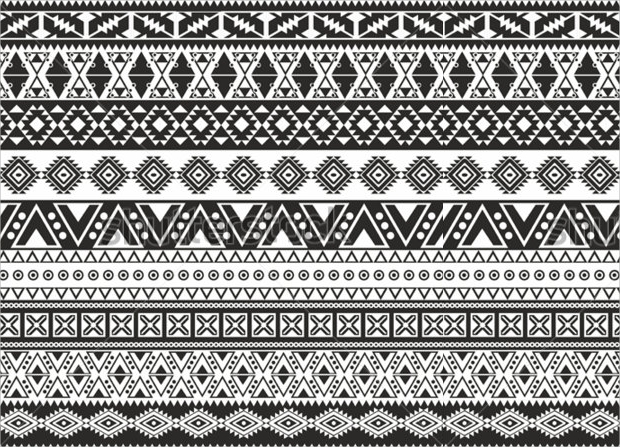 black and white repetitive pattern