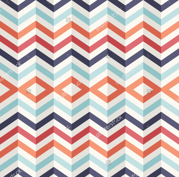 Layered Retro Seamless Pattern